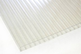 Сотовый поликарбонат IRROX PREMIUM толщина 6 мм, бесцветный