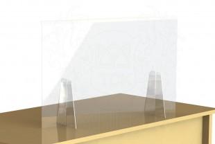 """Экран-завеса защитный (настольный) 1000*750 мм """"WOW SHIELD"""""""