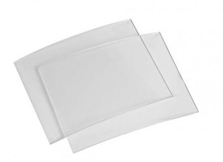 Стекло внешнее для масок сварщика (комплект 2 шт, 133*114)