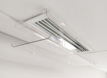 Защитный экран для вентиляционной решетки