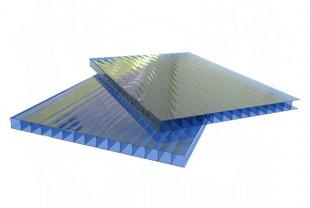 Сотовый поликарбонат LEXAN толщина 6 мм, синий