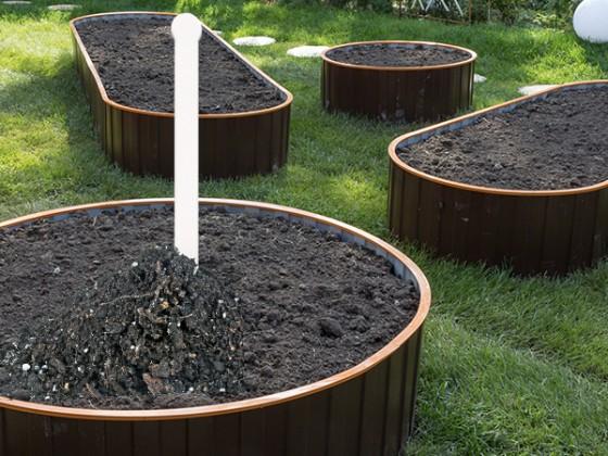 Таблички садовые для маркировки 283 мм, набор 10 шт.