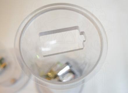 Контейнер для сбора батареек 120 мм