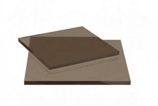 Монолитный поликарбонат Irrox толщина 5 мм, бронза