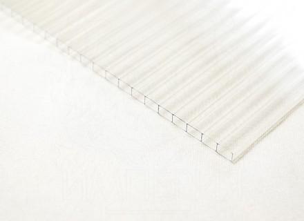 Сотовый поликарбонат толщина 3,5 мм, бесцветный