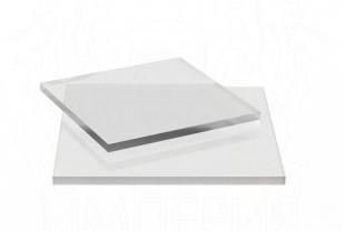Монолитный поликарбонат Borrex толщина 1 мм, бесцветный