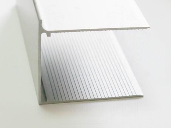 Профиль торцевой алюминиевый F32 мм