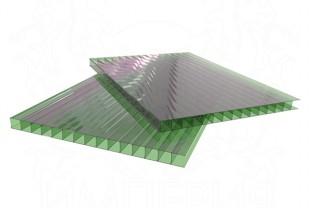 Сотовый поликарбонат LEXAN толщина 6 мм, зеленый