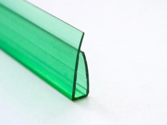 Профиль торцевой П4, зеленый