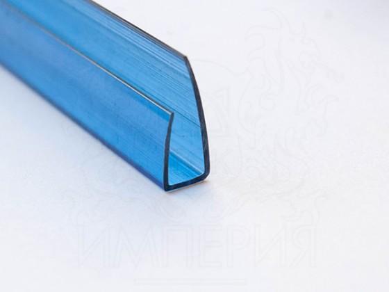Профиль торцевой П8, синий