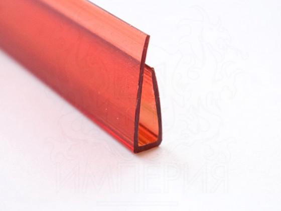 Профиль торцевой П6, красный