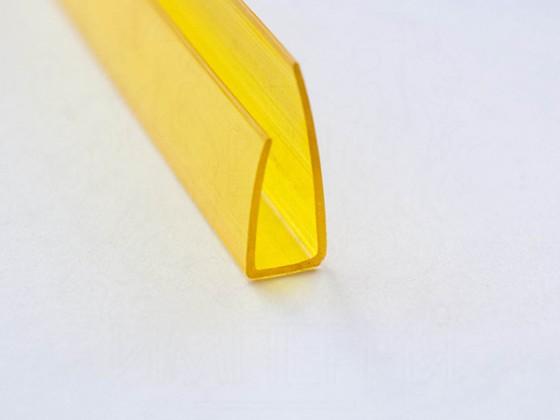 Профиль торцевой П8, желтый