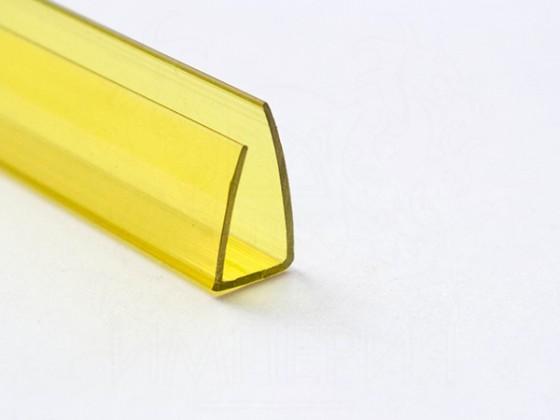 Профиль торцевой П16, желтый