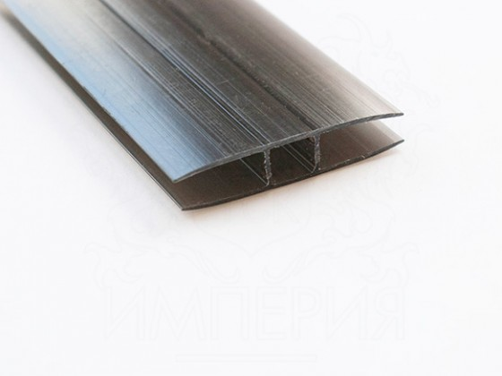 Профиль соединительный неразъемный НР 10мм, бронза
