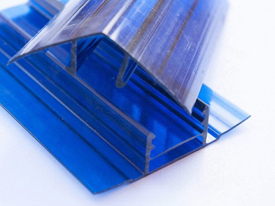 Профиль соединительный разъемный НРС 6-10мм, синий