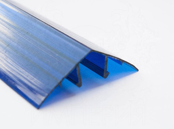 Профиль соединительный разъемный НРС 16мм. синий