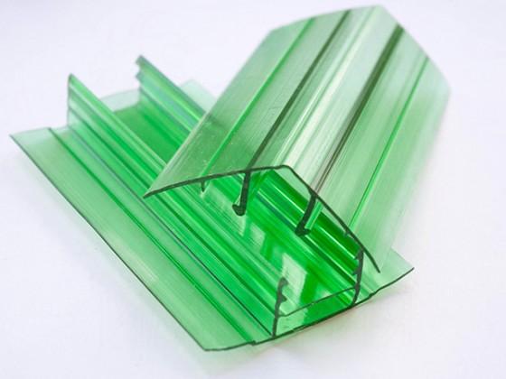 Профиль соединительный разъемный НРС 16мм. зеленый