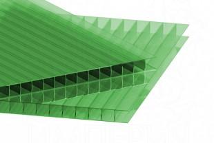 Сотовый поликарбонат IRROX толщина 8 мм, зеленый
