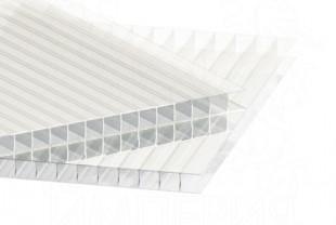 Сотовый поликарбонат IRROX толщина 6 мм, бесцветный