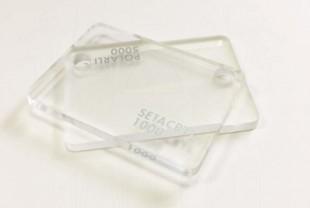 Литьевое прозрачное оргстекло SETACRYL, толщина 4 мм, бесцветное.