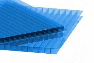 Сотовый поликарбонат IRROX толщина 10 мм, синий