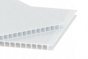 Сотовый поликарбонат IRROX толщина 6 мм, опал