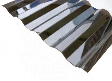 Профилированный поликарбонат Borrex бронза серый 1.3 мм